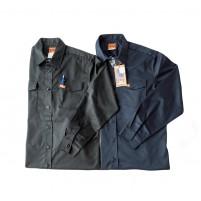 Chemise de travail extensible à manches longues - Orange River