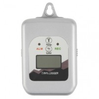TEMPERATURE/HUMIDITY DATA LOGGER, LCD