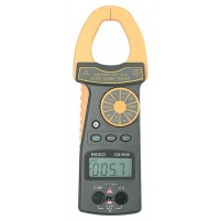 CLAMP METER, 600A AC/DC