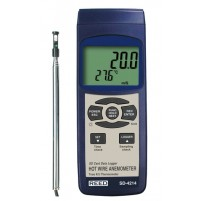ANEMOMETER/THERMOMETER, HOT WIRE, DATA LOGGER