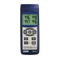 THERMOMETER, THERMOCOUPLE, 4-CHANNEL, DATA LOGGER