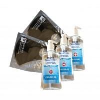 COVID KIT 2 - Masques et gel désinfectant pour les mains