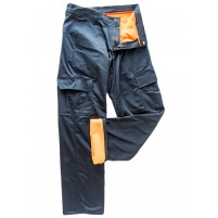 Pantalon de travail cargo doublé Rocky - Orange River
