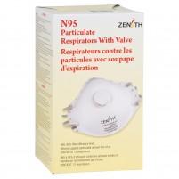 Respirateurs N95 contre les particules