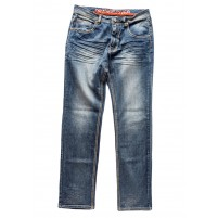 Denim de travail extensible Tom Fashion - Orange River