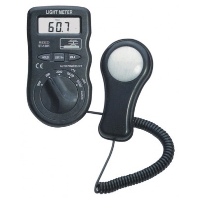 LIGHT METER, 50,000 LUX