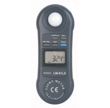 LIGHT METER, 20,000 LUX