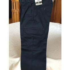Pantalon de travail cargo bleu