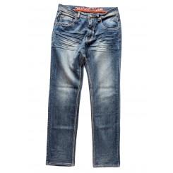 Denim de travail extensible Tom Fashion - Orange River