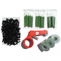 PL5 - 3 COMPLETE KITS - GREEN (UV resistant)