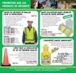 Promotion - Produits de sécurité